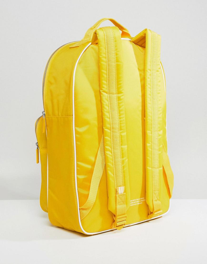 Lyst - adidas Originals Backpack In Mustard in Yellow 08fd11fd5ba77