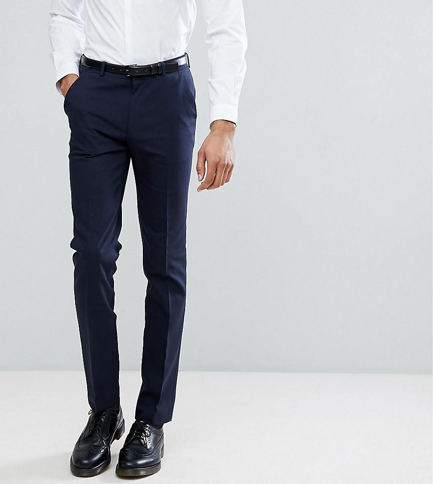 TALL Super Skinny Wedding Suit Trouser in Blue - Mid blue Noak Reliable For Sale OkG0UX