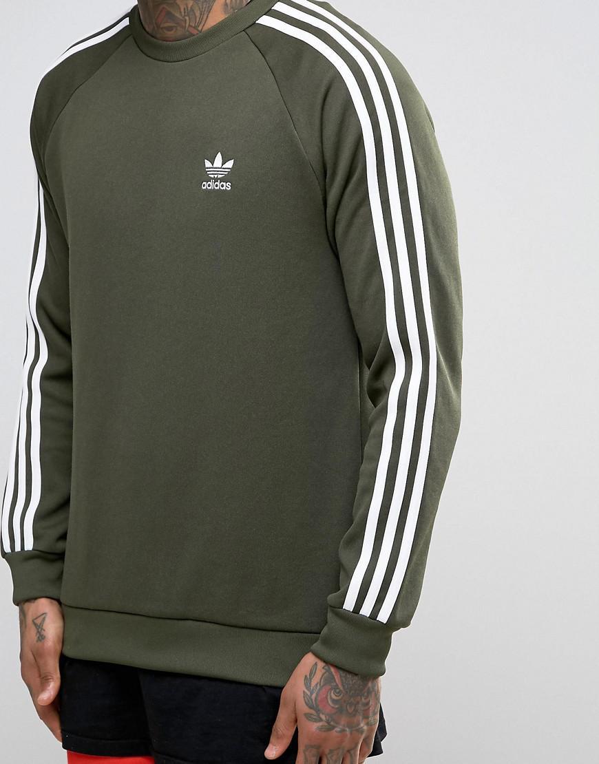 Sst Lyst Bq5406 Con Originals En Sudadera Adidas Redondo Cuello Verde  Eq1r4EW 33a1829d7e3