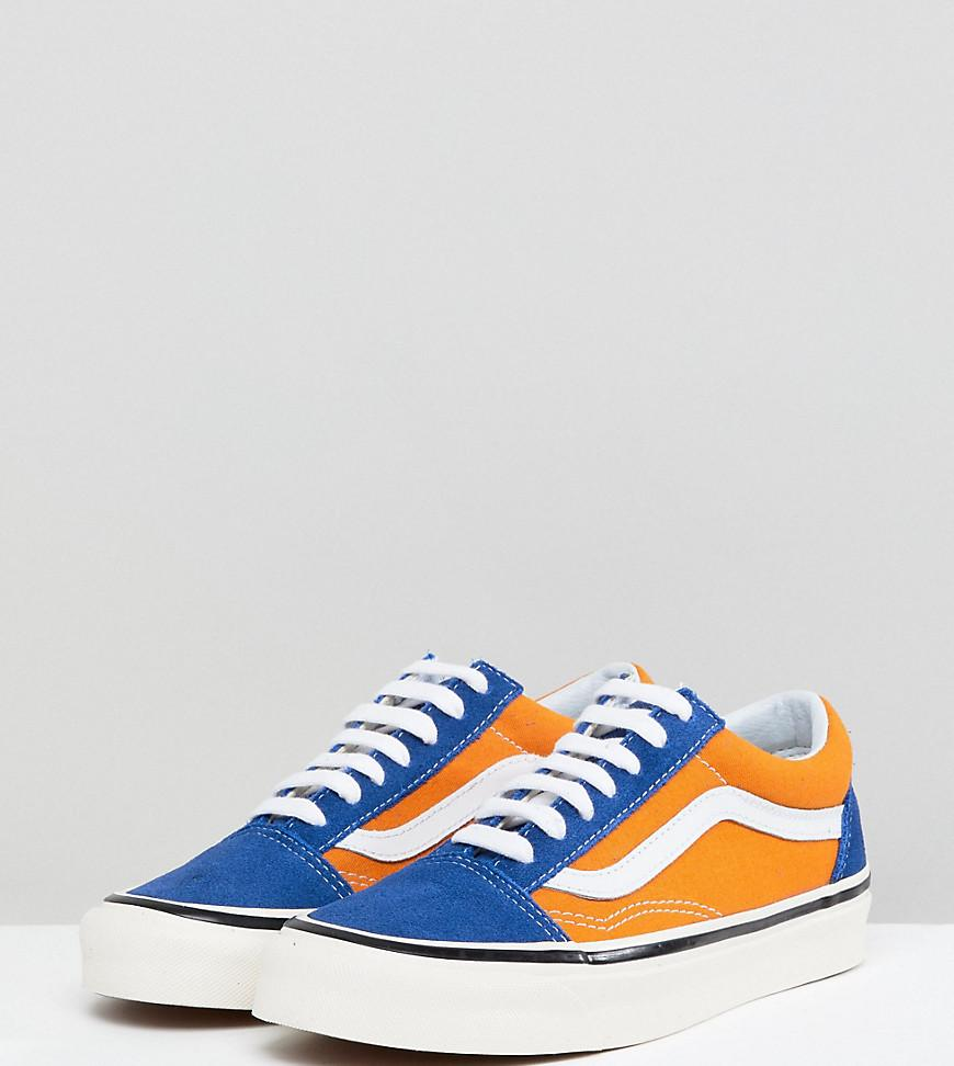 e3f74879a0ab Vans Anaheim Old Skool Trainers In Og Blue And Gold in Blue - Lyst