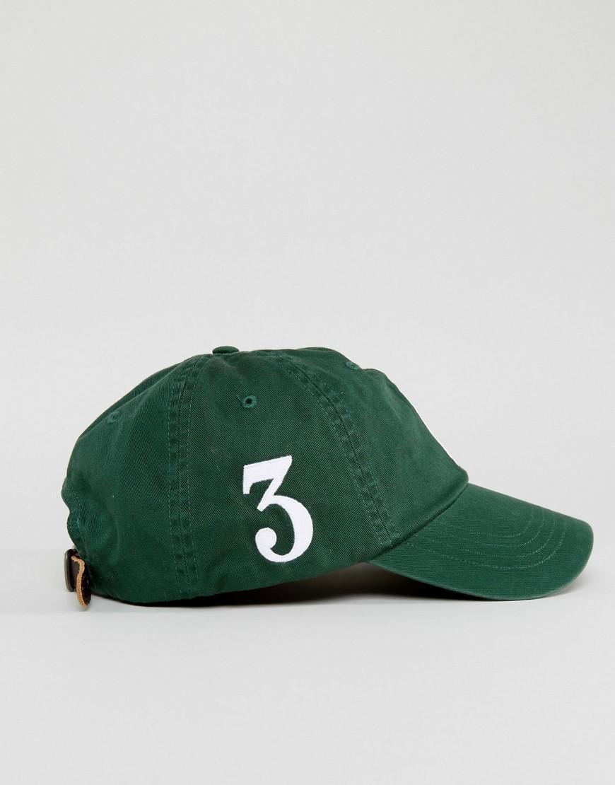 9c657630e Polo Ralph Lauren Player Baseball Cap Large Polo Player In Dark ...