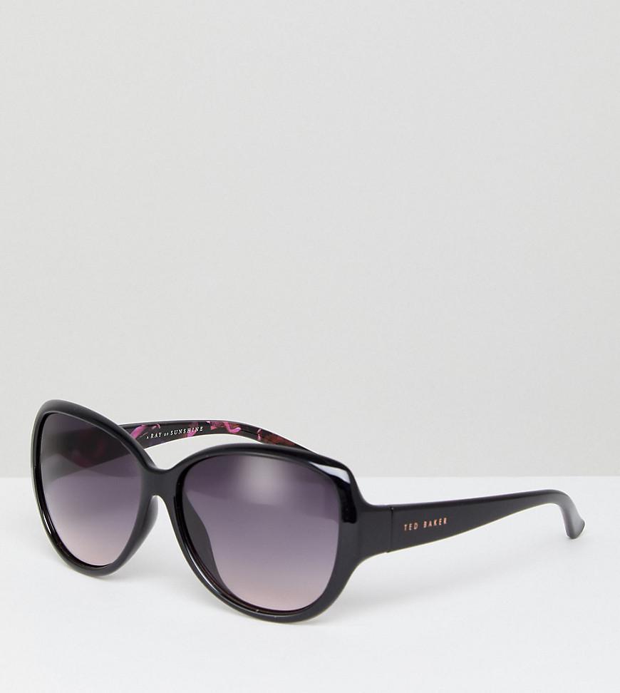 c852f236e73 Ted Baker Tb1394 011 Shay Oversized Sunglasses In Black in Black - Lyst