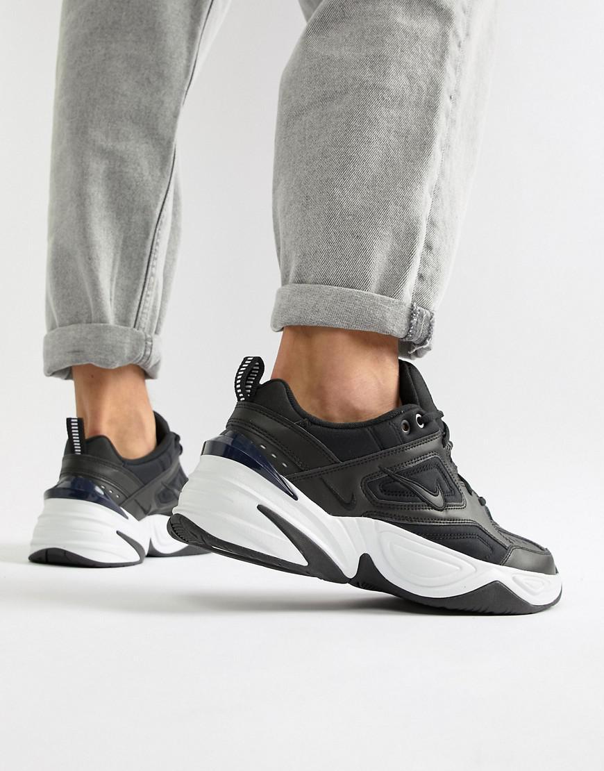 sale retailer 67759 ccf97 Nike M2k Tekno Trainers In Black Av4789-002 in Black for Men - Lyst nike