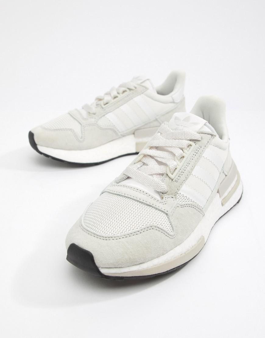 77ad15f7e461 Lyst - adidas Originals Zx 500 Rm Sneakers In White in White