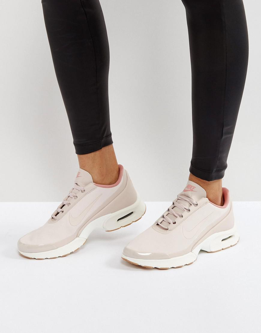 Nike Air Max Jewell Sneakers In Pastel Pink Leather in Pink - Lyst c13614bbf