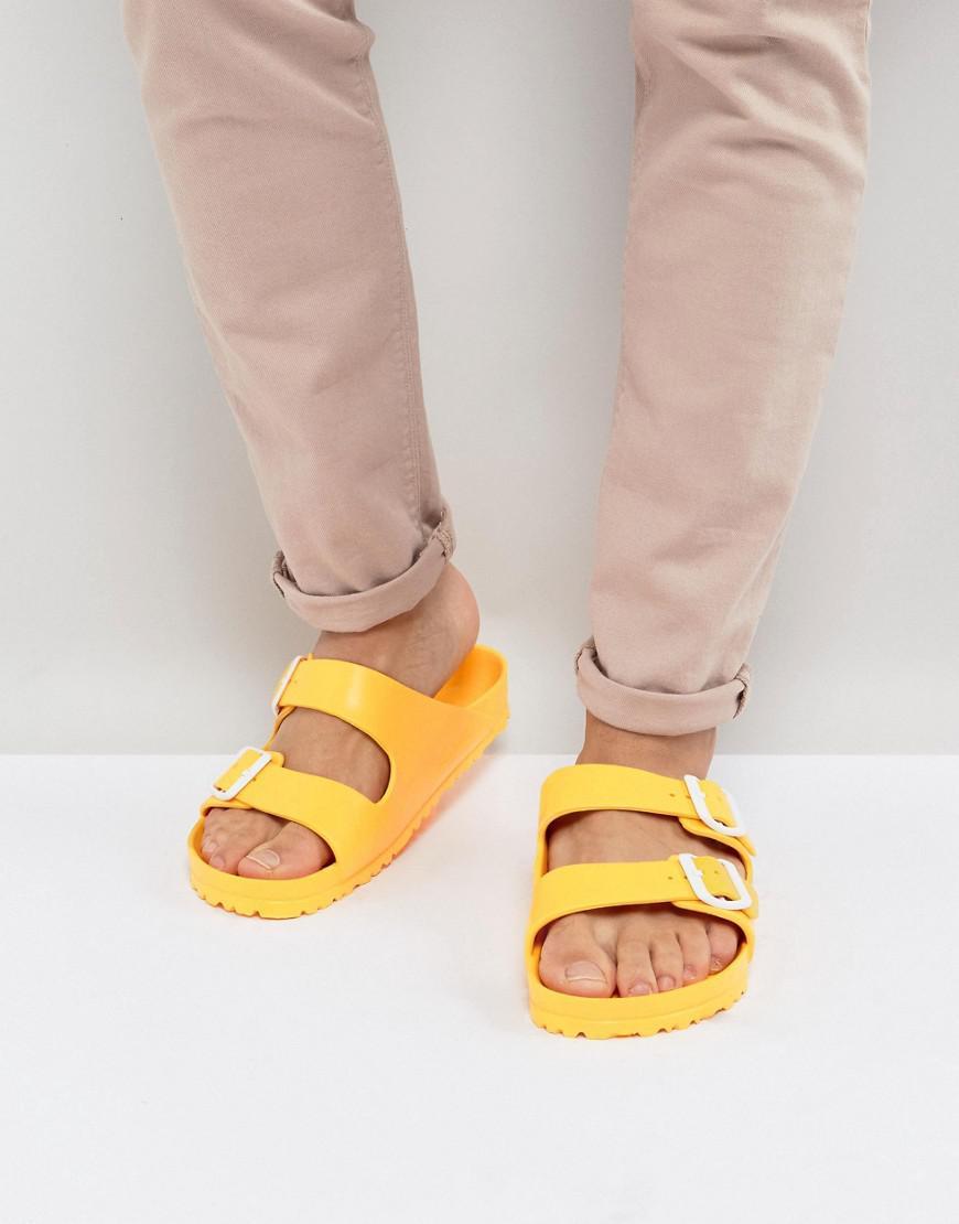 8ea864525347 Lyst - Birkenstock Arizona Eva Sandals in Yellow for Men