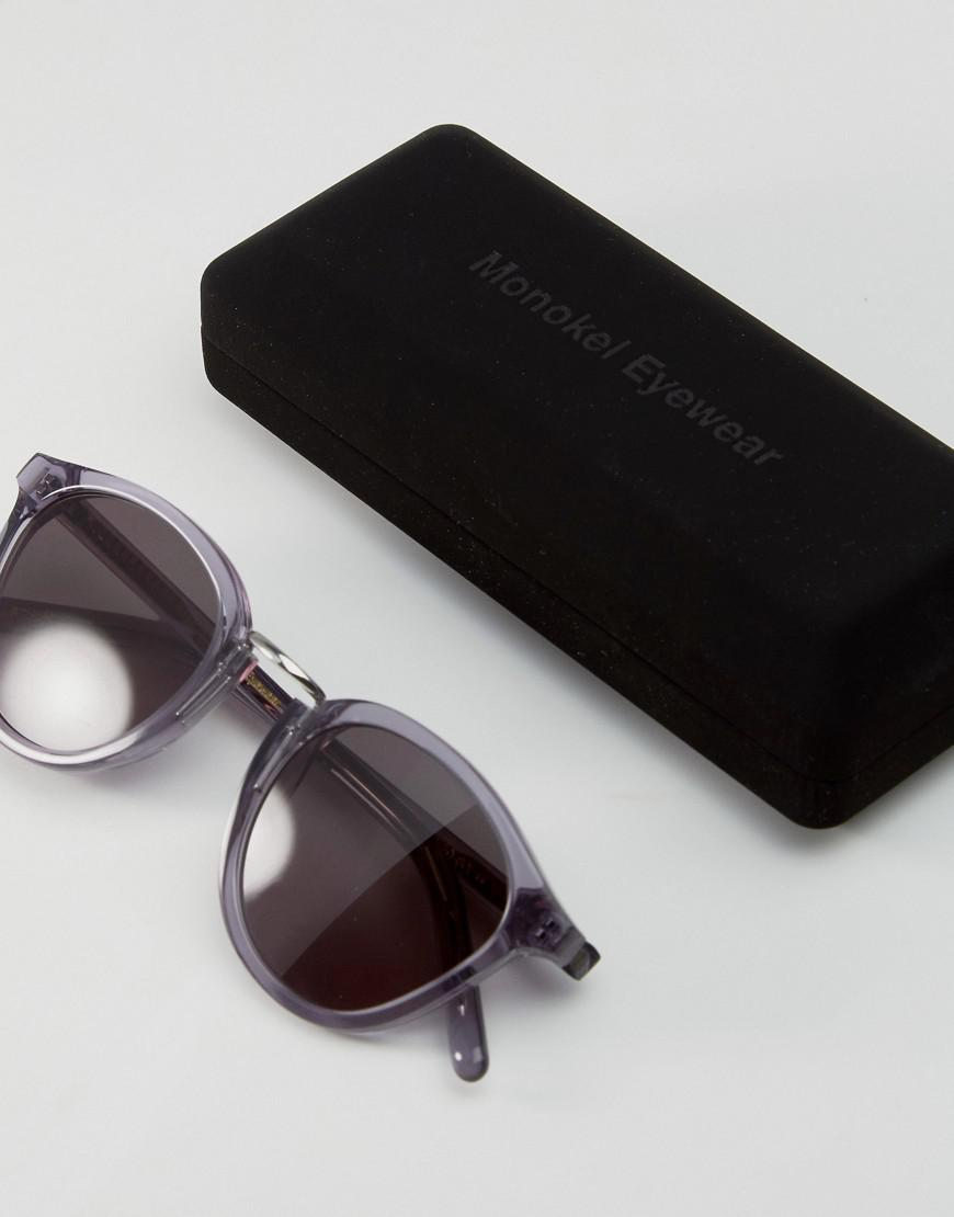 040f0ccdc0 Lyst - Monokel Eyewear Monokel Round Sunglasses Nalta In Gray in ...