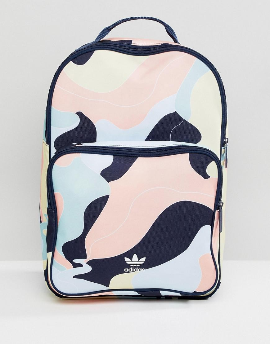 e1617d9d1c38 adidas Originals Hza Valley Camo Backpack Dp0217 in Pink for Men - Lyst