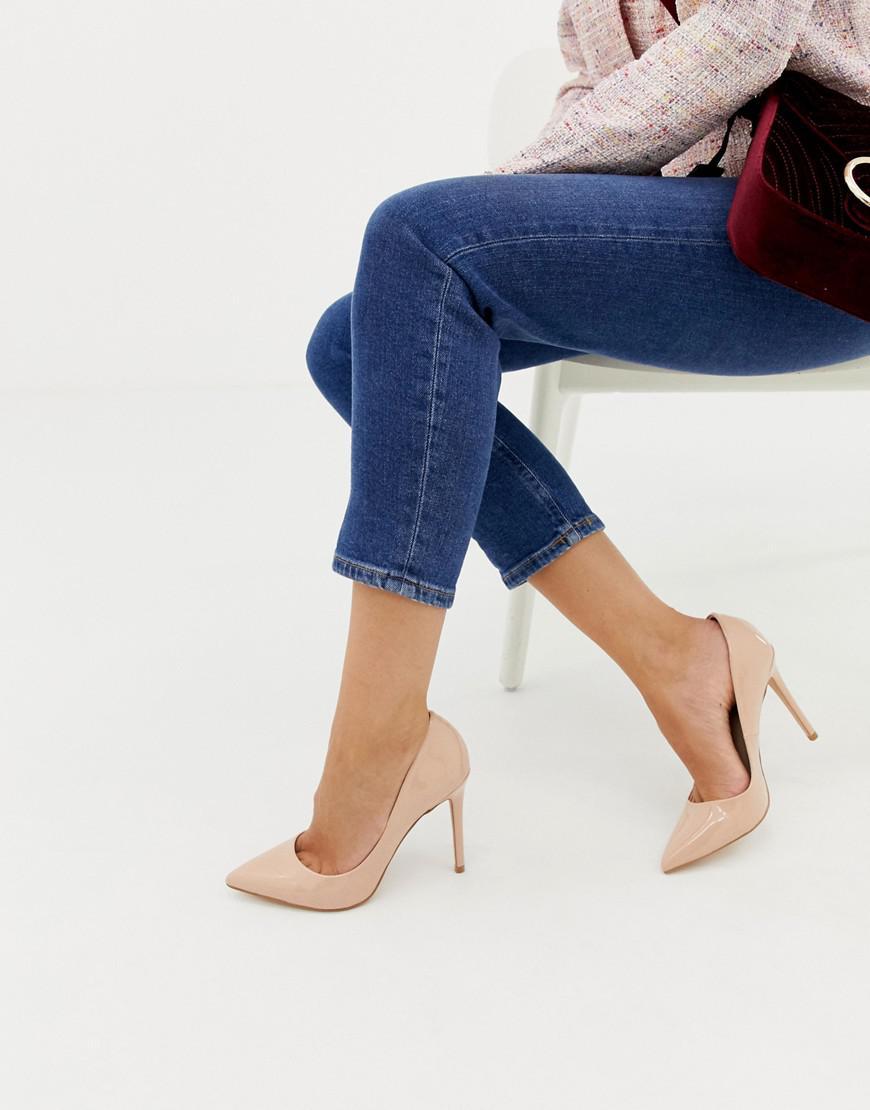 de0c0f99ebc49 Faith Natural 'chloe' Wide Fit Court Shoes in Natural - Save 14% - Lyst