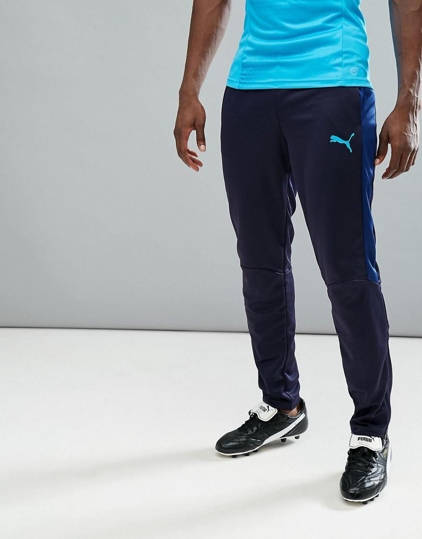 02474765d6aa PUMA Football Evotrg Training Tech Trousers In Navy 65536150 in Blue ...