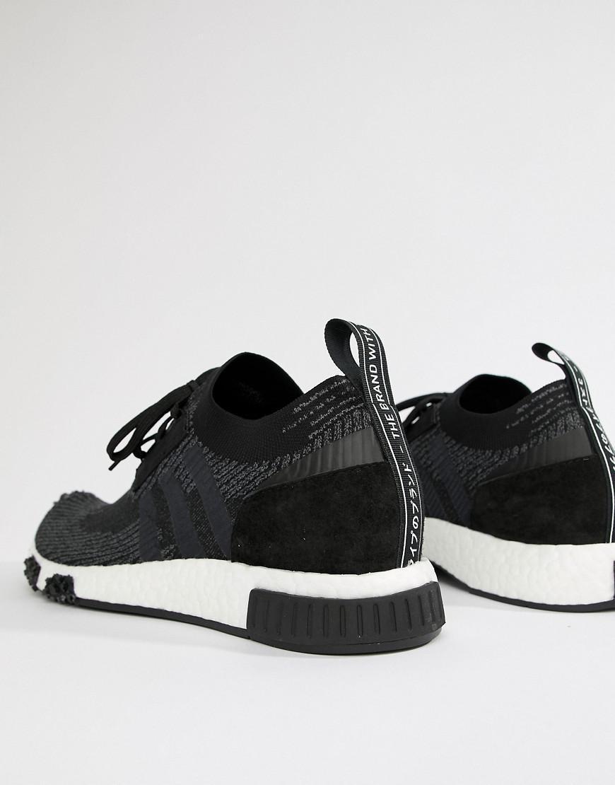 cheap 2014 unisex adidas Originals NMD Racer PK Trainers In Black AQ0949 buy cheap 2014 unisex nJTiDKu
