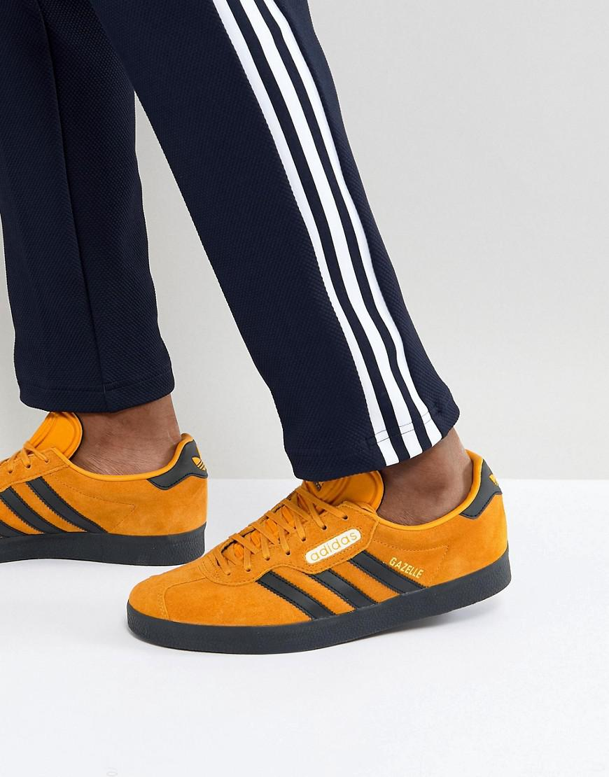 ed6dae3b7695d3 Lyst - adidas Originals Gazelle Sneakers In Yellow Cq2795 in Yellow ...