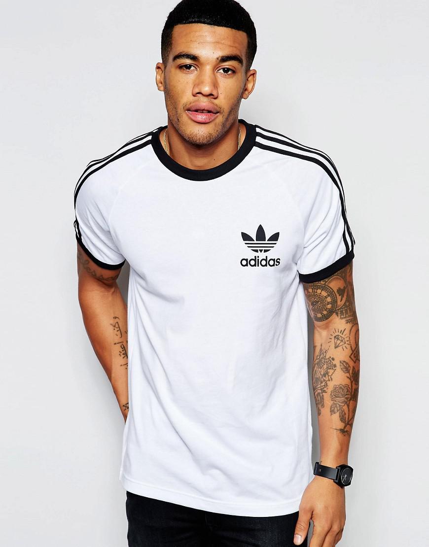 brand new d26dd 778bd adidas Originals California T-shirt Aj8833 in White for Men - Lyst