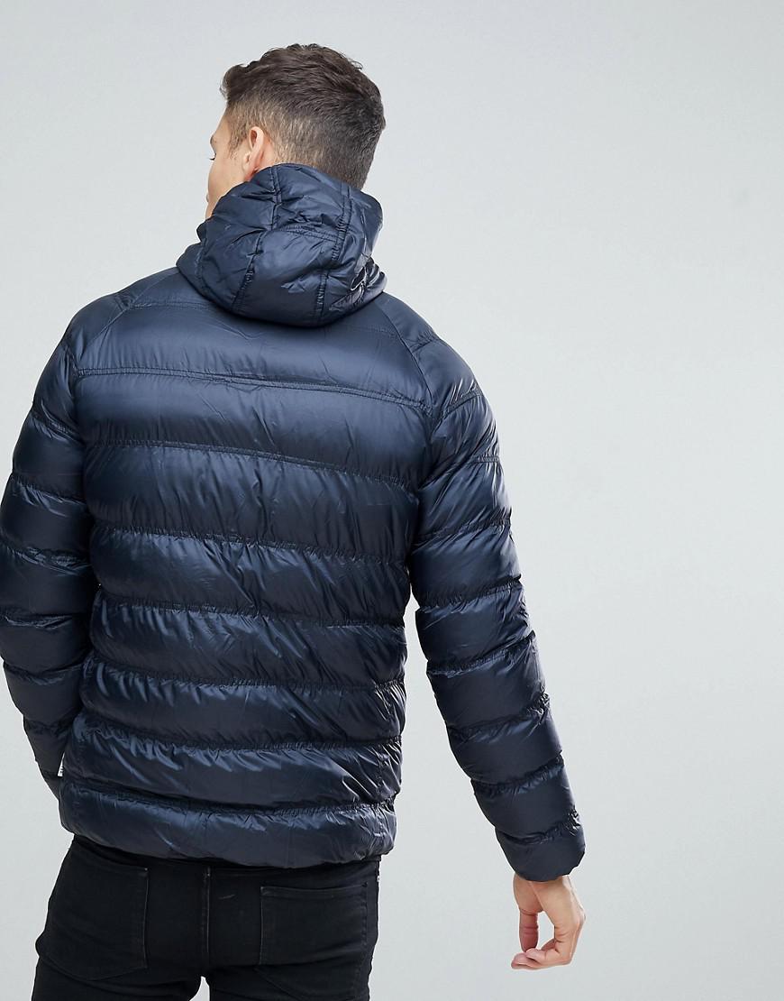 Lyst Down Bellfield para capucha hombre azul con en Chaqueta color EqnAS7S b4bad4b6c5f0c