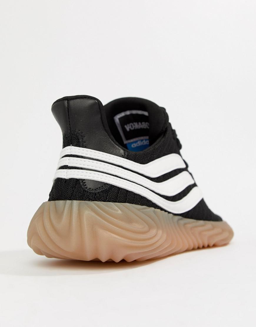 ee80c9b7005876 Lyst - adidas Originals Sobakov Sneakers In Black Aq1135 in Black for Men