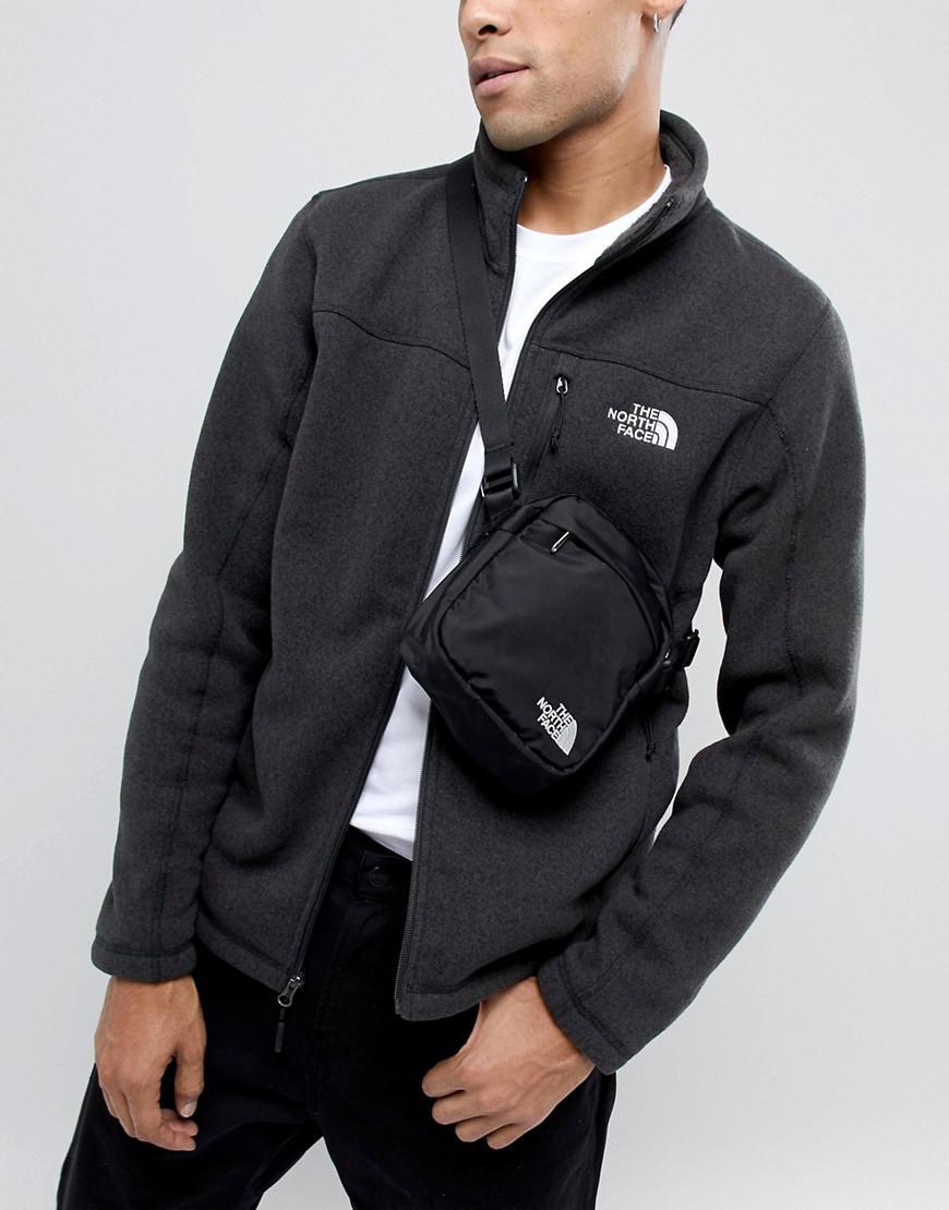 8cf572afd554cc The North Face Convertible Shoulder Bag In Black in Black for Men - Lyst