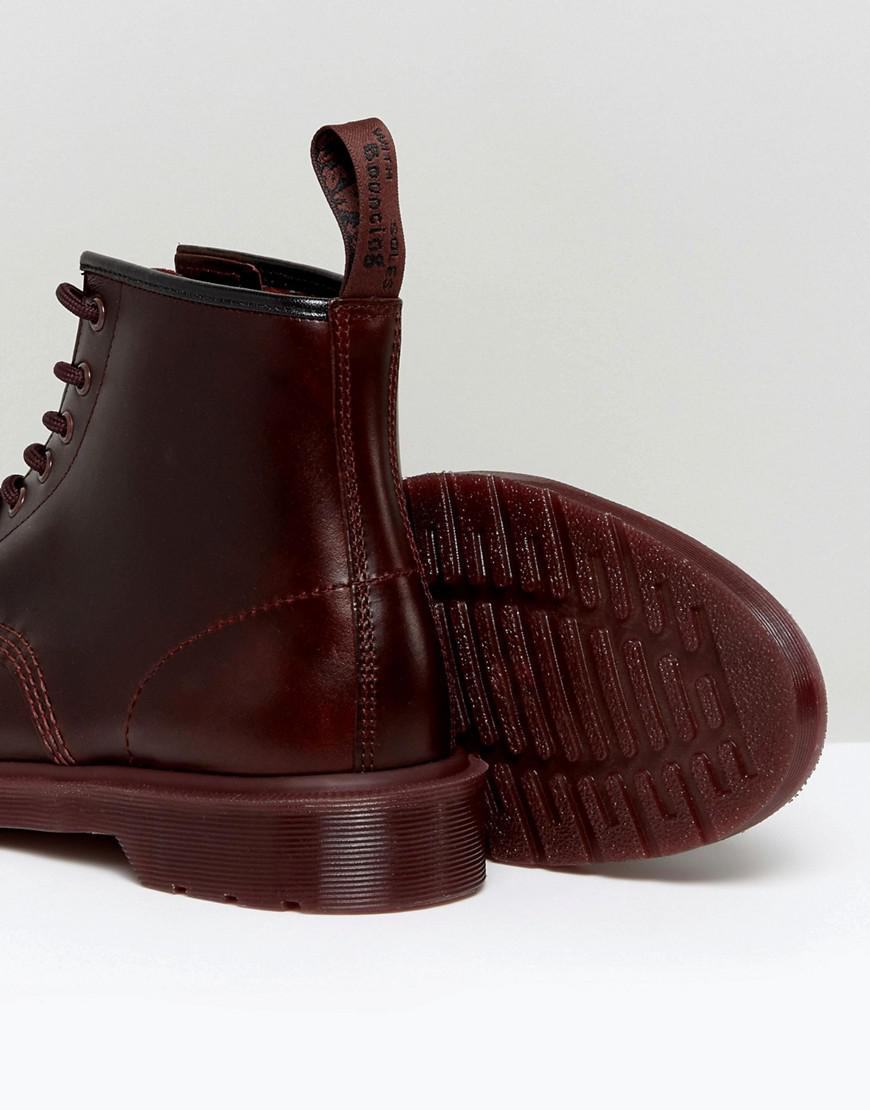 colour block boots - Red Dr. Martens IqgTrRM