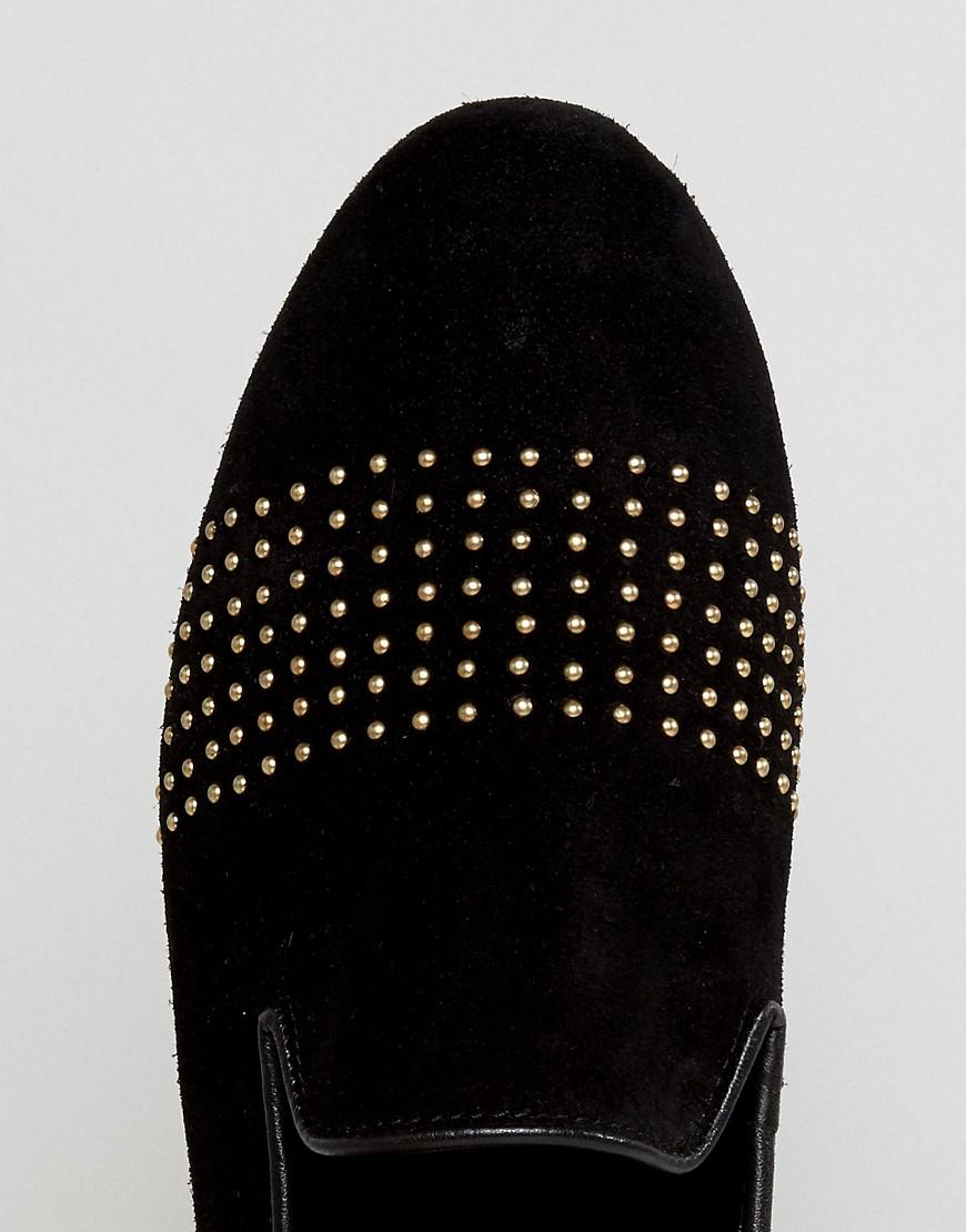 Frank Wright Loafers With Gold Stripe 0GiYq3NB