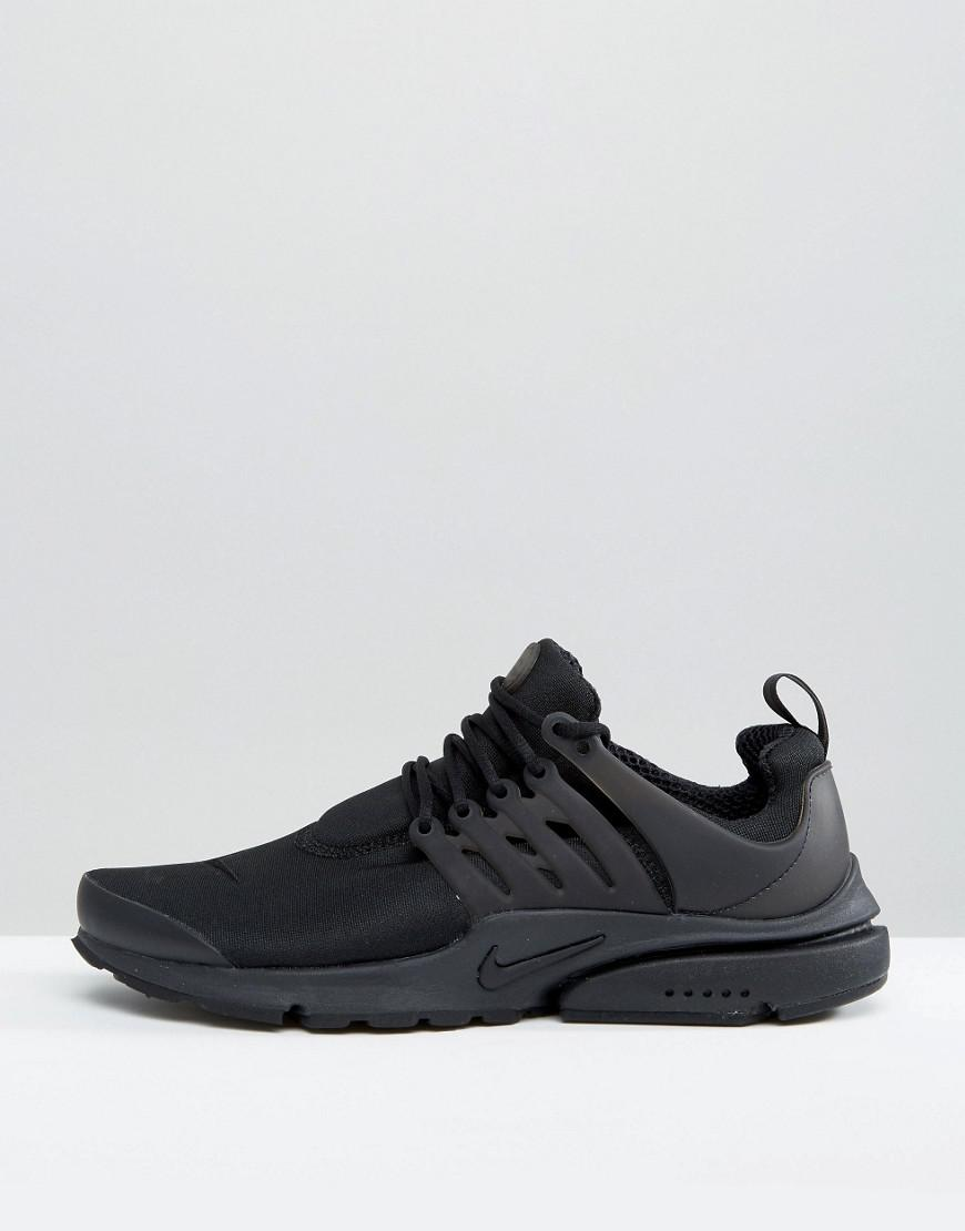 top quality buy look out for Nike Air Presto Trainers In Black 848187-011 in Black for ...