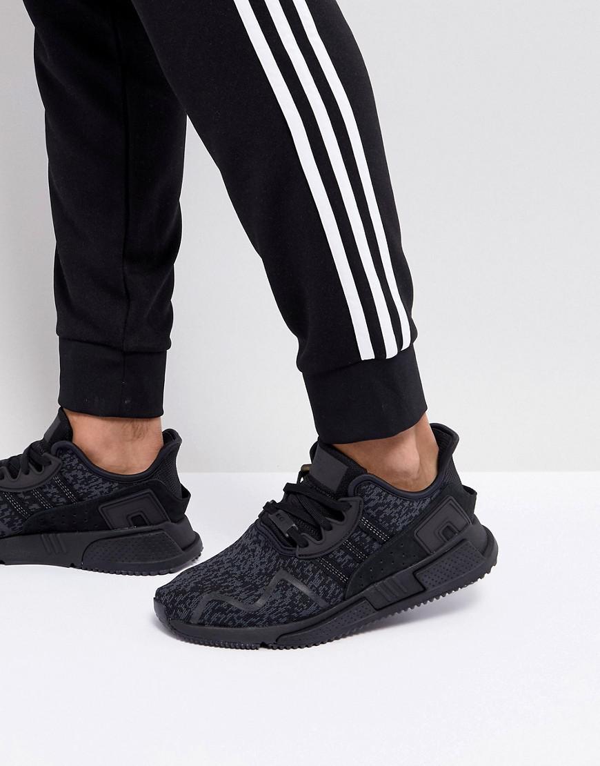 Adidas Originals EQT Cushion ADV formadores en negro by9507 en negro