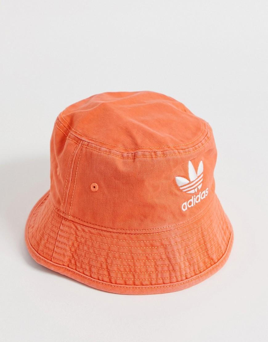 adidas Originals Bucket Hat In Orange in Red for Men - Lyst d5f803113f0fb
