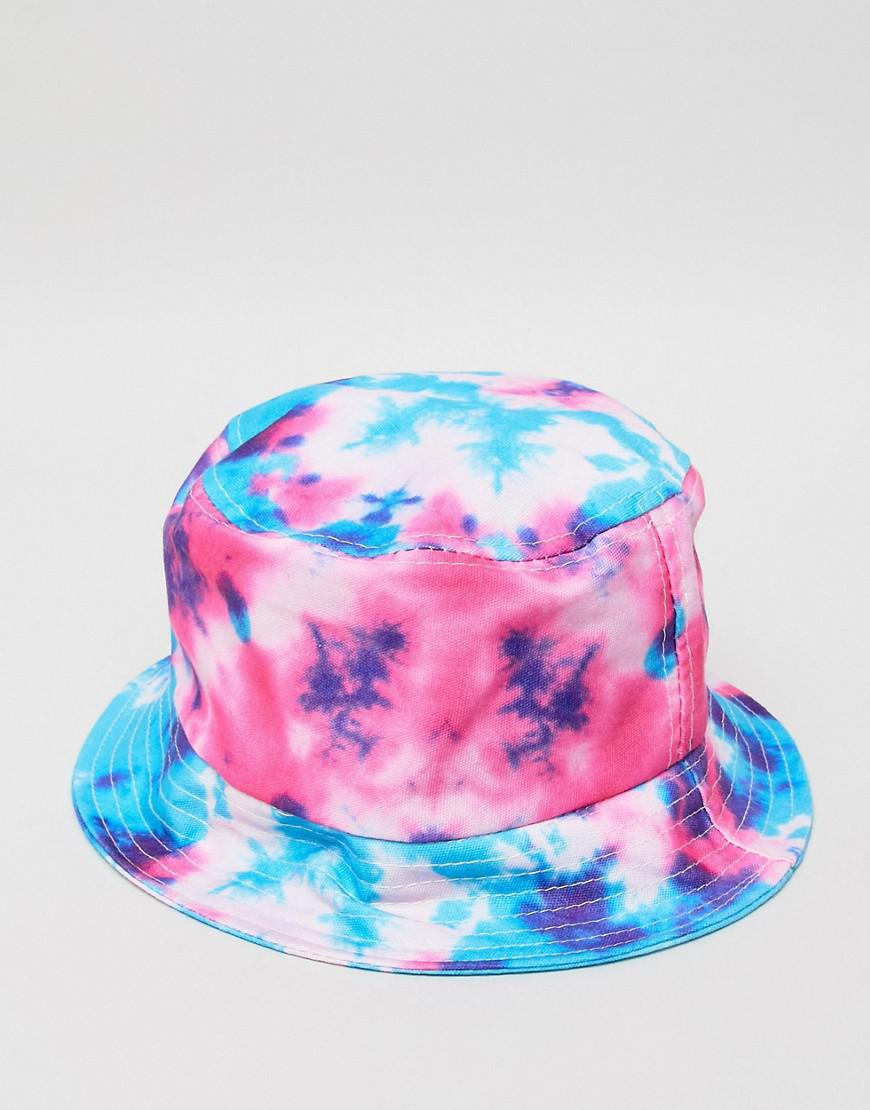 7b068b9c7ecf29 Reclaimed (Vintage) Inspired Festival Hat In Tie Dye for Men - Lyst