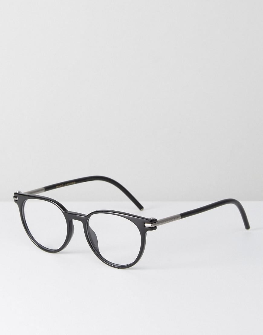 Tinted Lens Square Frame Sunglasses with Splatter Finish - Black Marc Jacobs CjOVNDqRh