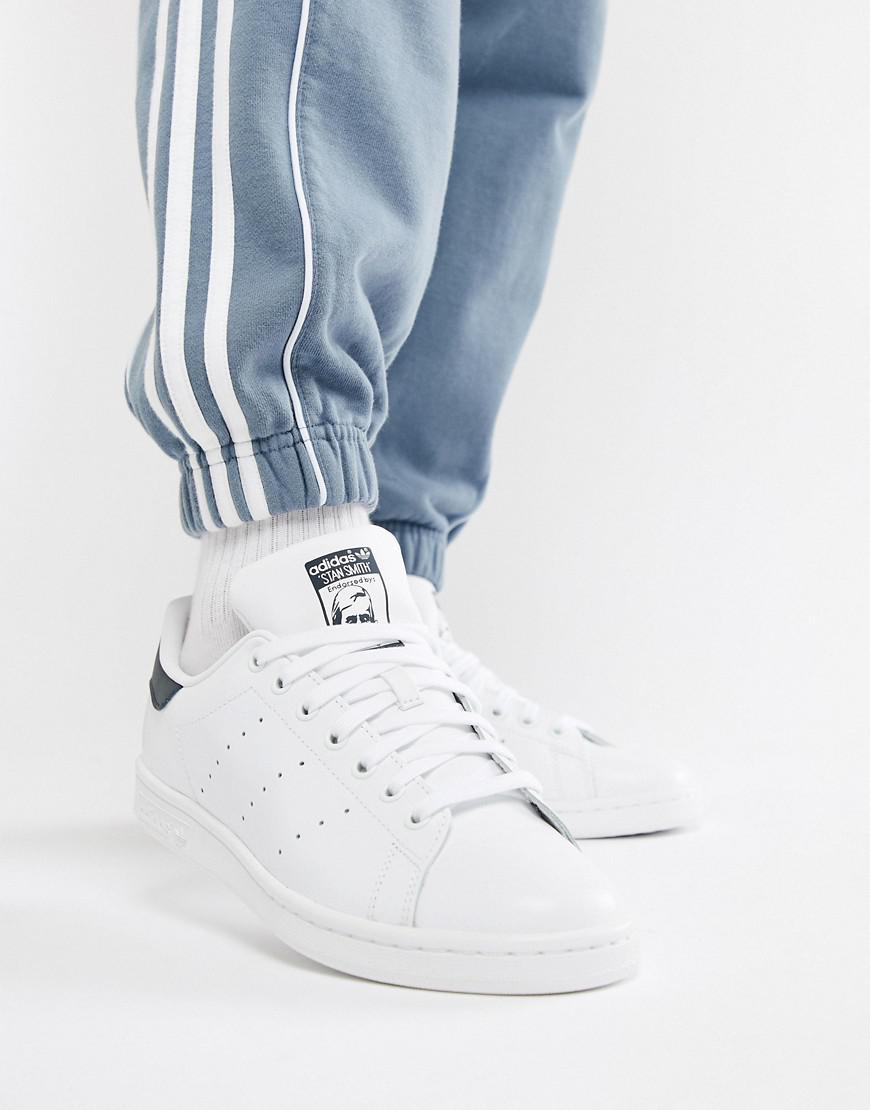 0527ac737 Lyst - adidas Originals Stan Smith Leather Trainers In White M20325 ...