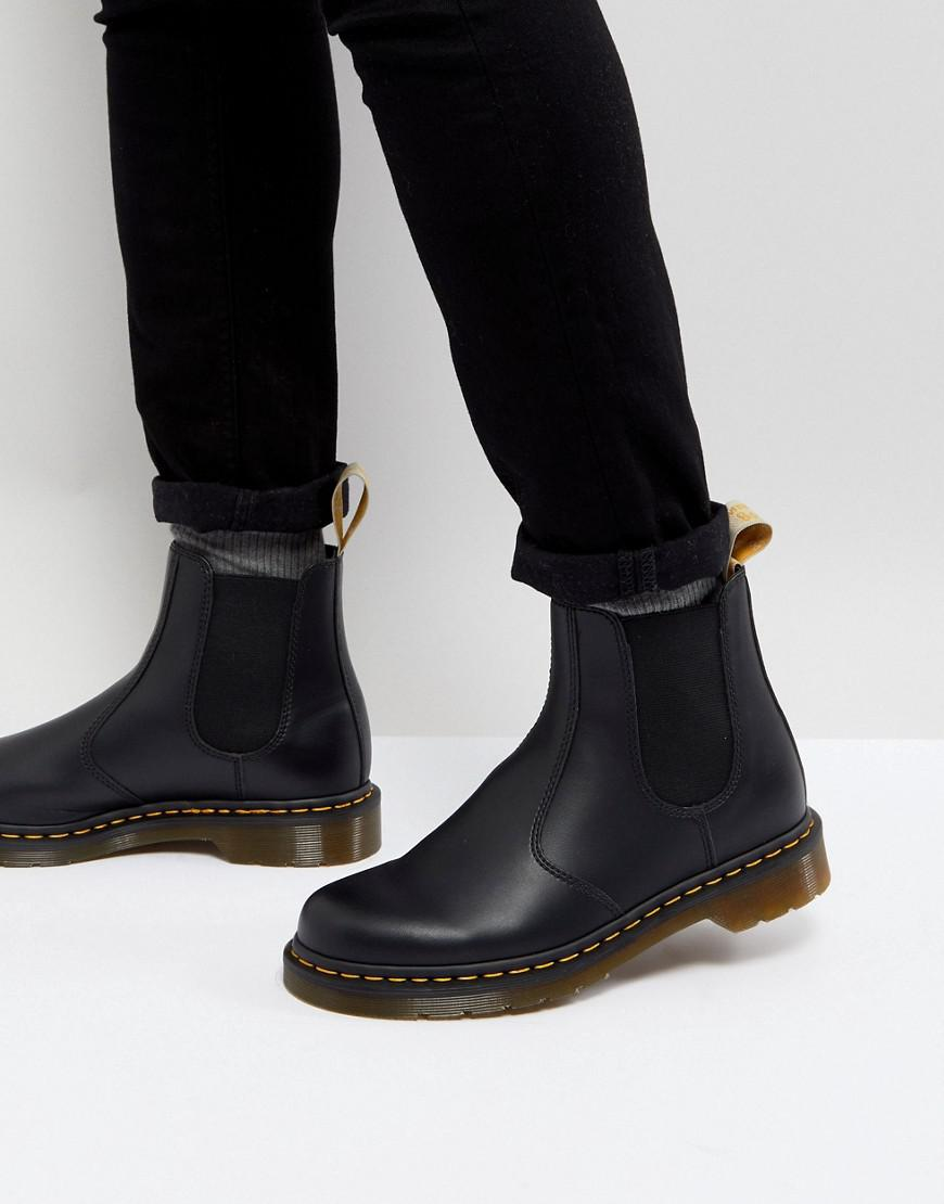 lyst dr martens 2976 vegan chelsea boots in black. Black Bedroom Furniture Sets. Home Design Ideas