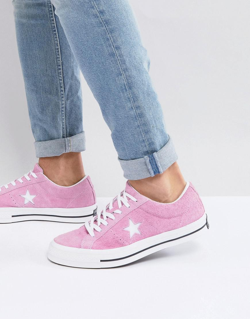 One Star Ox Plimsolls In Pink 159492C - Pink Converse S4QQIWJh8