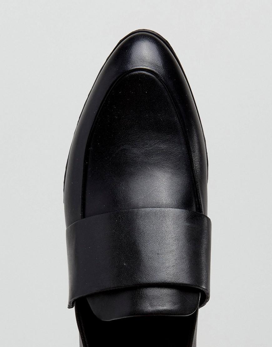 cc02b782381 Lyst - Vagabond Frances Black Polished Leather Loafers in Black