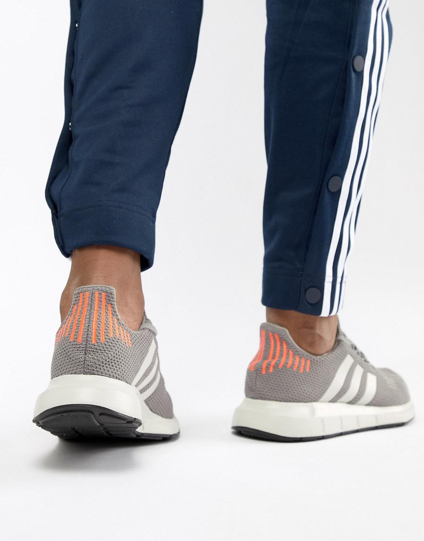 5706b060967e4 Lyst - adidas Originals Swift Run Sneakers In Gray B37728 in Gray for Men
