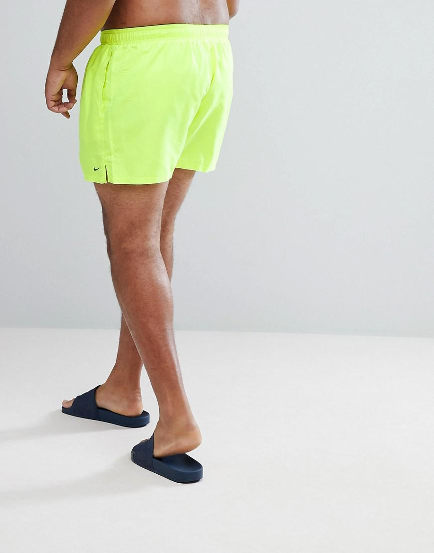 cfb94cb744e Nike Nike Plus Volley Super Short Swim Short In Yellow Ness8830-737 in  Yellow for Men - Lyst