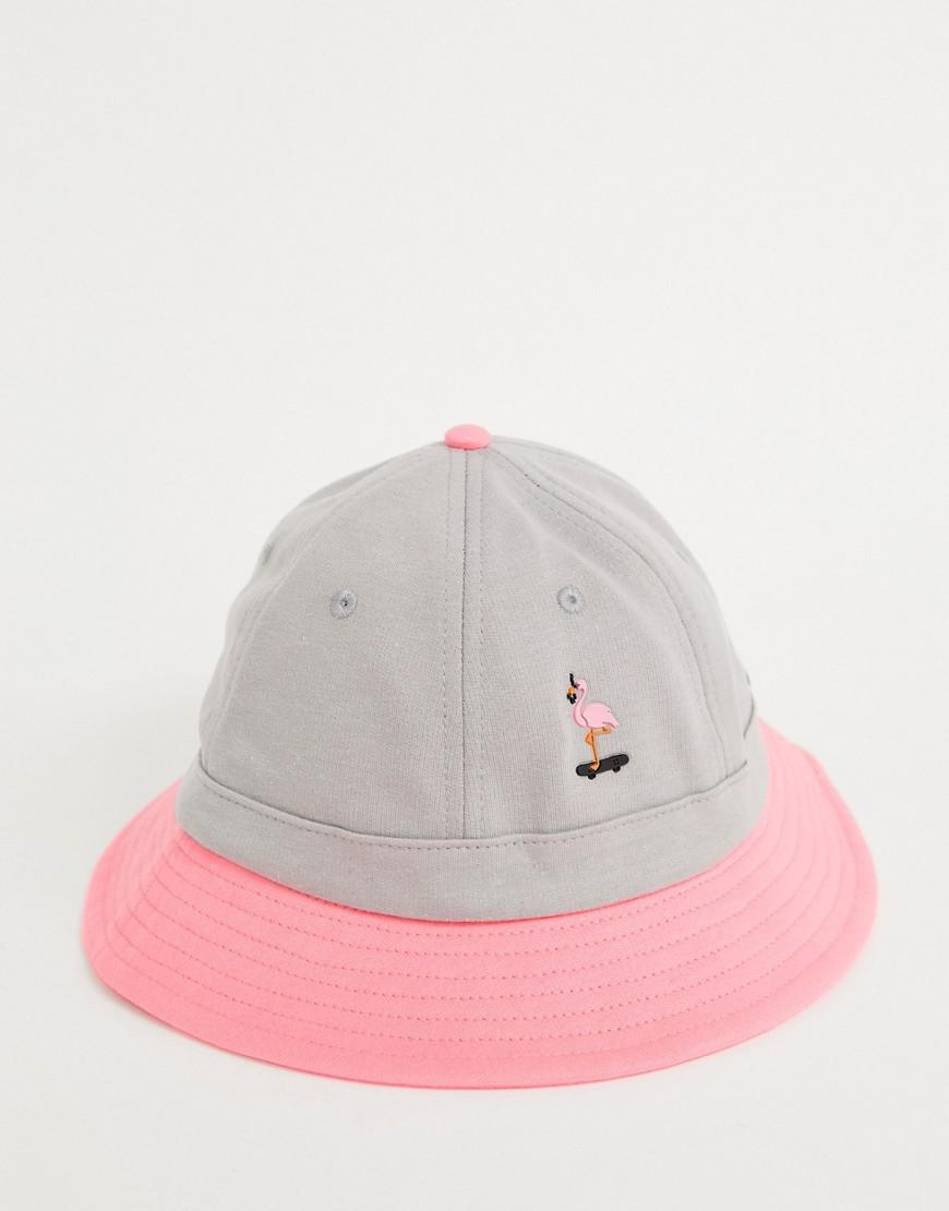 RIPNDIP Ripndip Beaches Bucket Hat In Pink And Grey in White for Men - Lyst 82d436f90d3