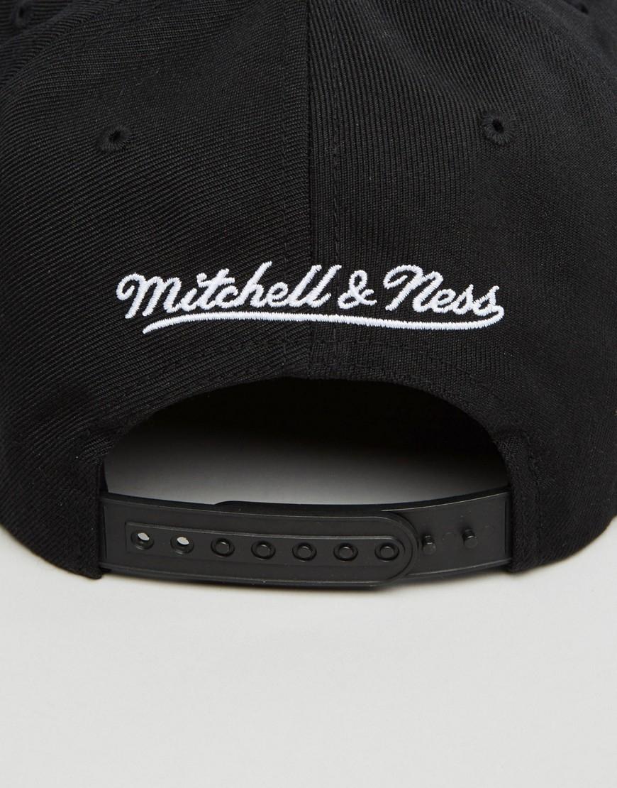 300c9abfe8c Mitchell   Ness Snapback Cap Geo Tech Toronto Raptors in Black for ...
