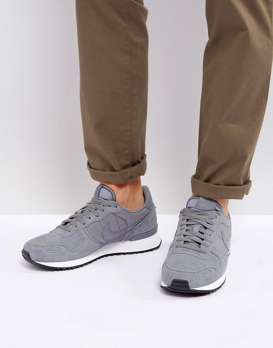 d251a06b4ae530 Nike Air Vortex Leather Trainers In Grey 918206-002 in Gray for Men ...