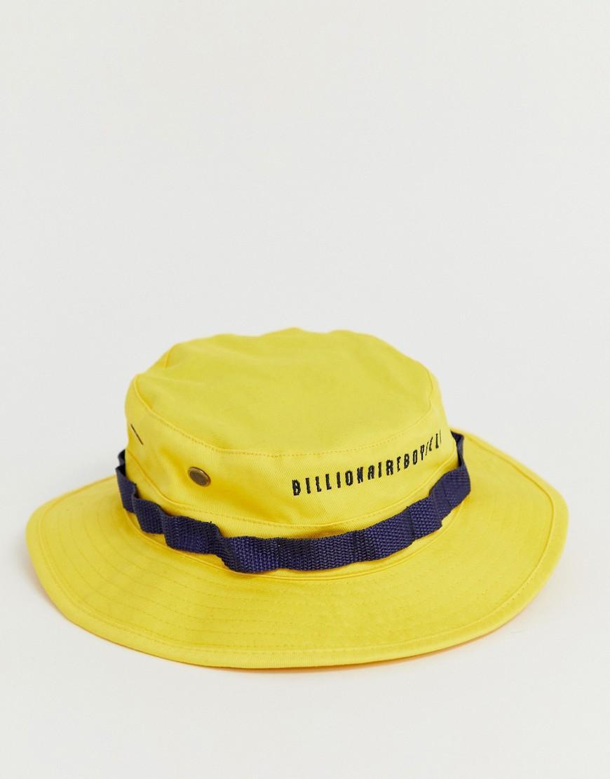 ec4645b9 BBCICECREAM Boonie Bucket Hat In Yellow in Yellow for Men - Lyst