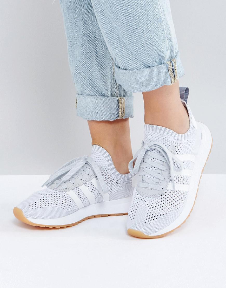 check out a29ba f77eb Lyst - adidas Originals Originals Flb Primeknit Sneaker In G