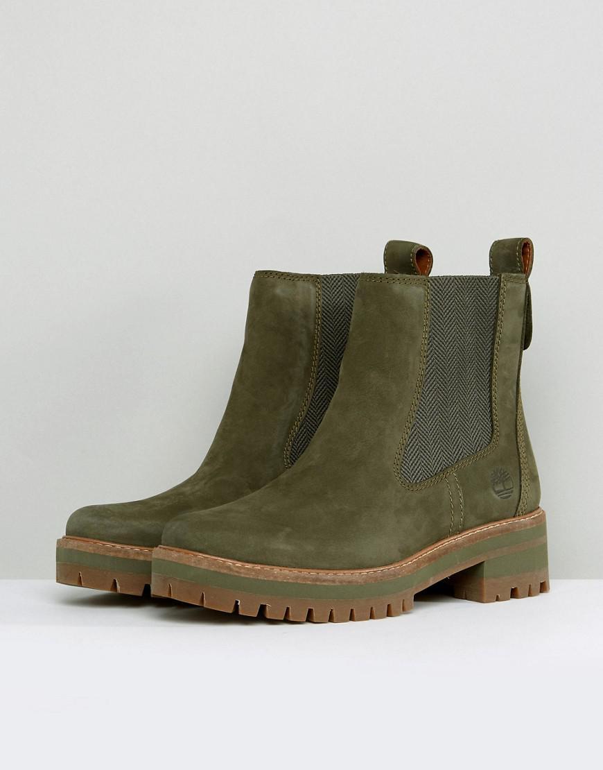 Uitzonderlijk Lyst - Timberland Courmayeur Valley Olive Chelsea Boots in Green @CE06