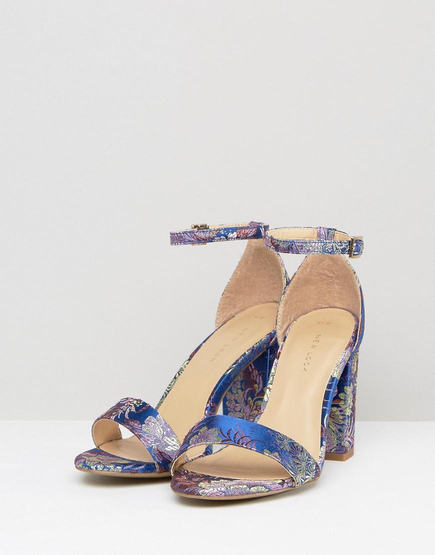 Round-Up Brocade Block Heel Dress Sandals 1sYpMlMKy