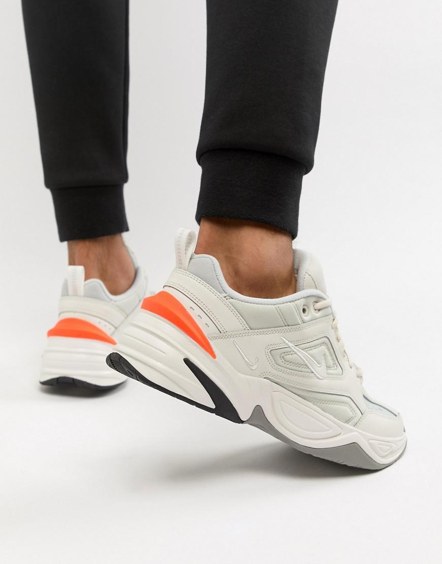 new style da8f7 4d017 Nike M2k Tekno Sneakers In White Av4789-001 in Pink for Men - Lyst