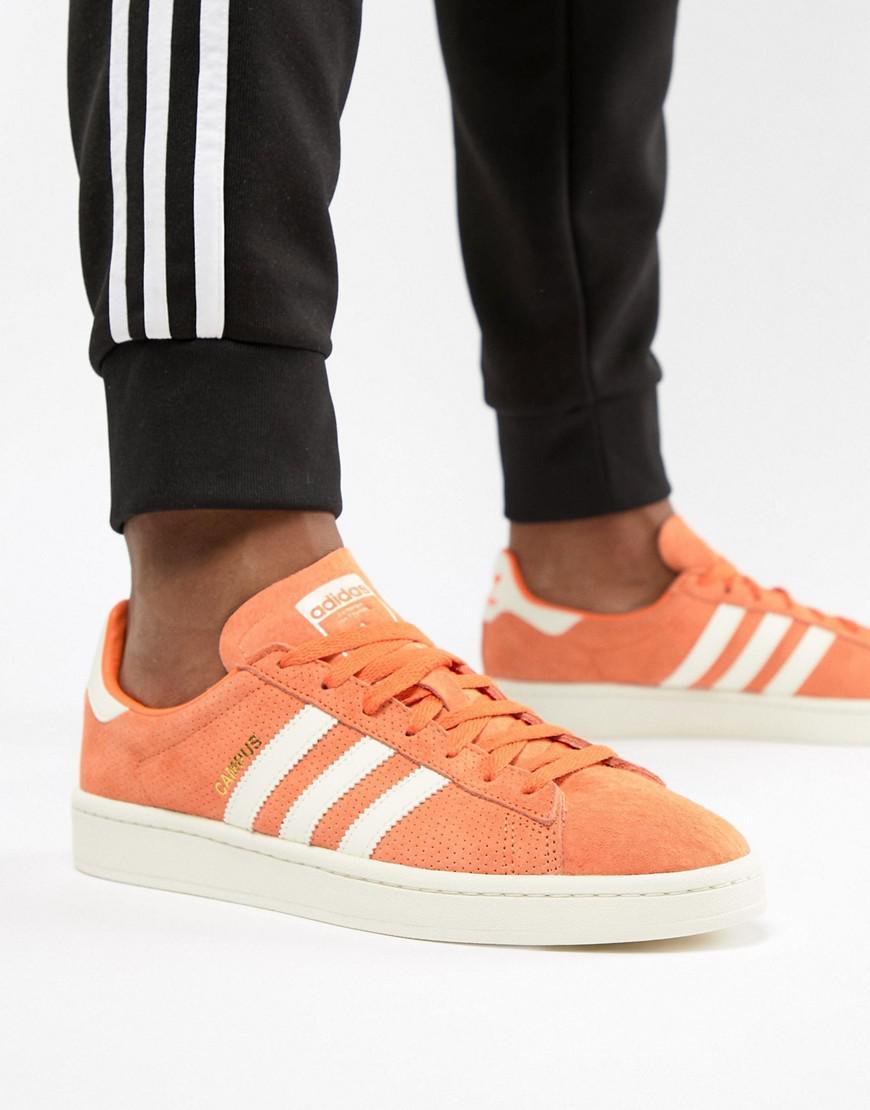 26ad744993114b Lyst - adidas Originals Campus Sneakers In Orange Cq2078 in Orange for Men