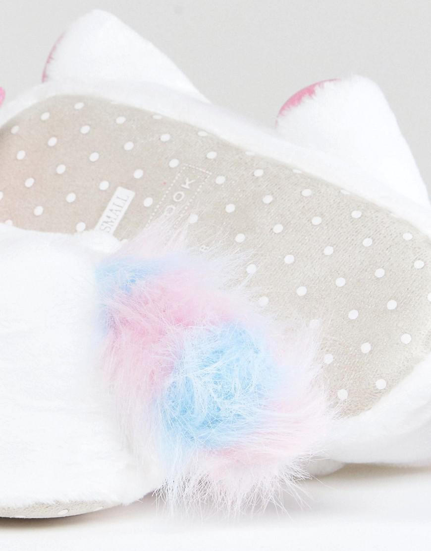 4e94e3ee52ce New Look Unicorn Slipper in White - Lyst