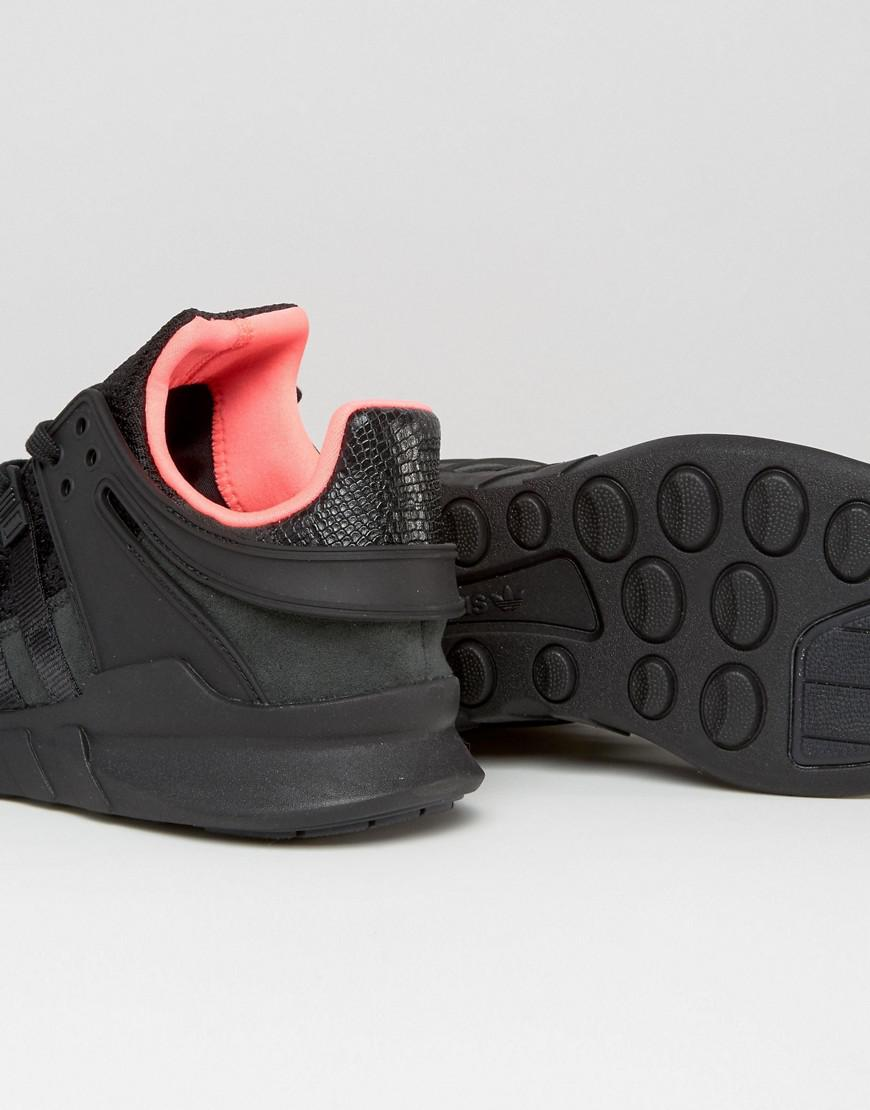 lyst adidas originali eqt sostegno anticipo le scarpe da ginnastica in nero bb1300