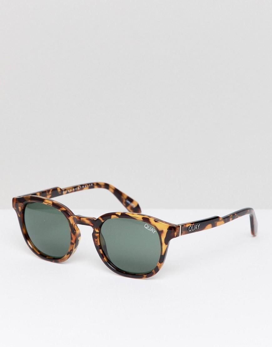 37bfa1f27b Gafas de sol redondas de carey Walk On de Quay de hombre de color ...
