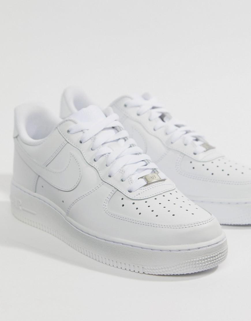c34dbc4d78 Air Men Force 1 White 315122 Sneakers 111 Lyst '07 Nike In For pBOqvdpA