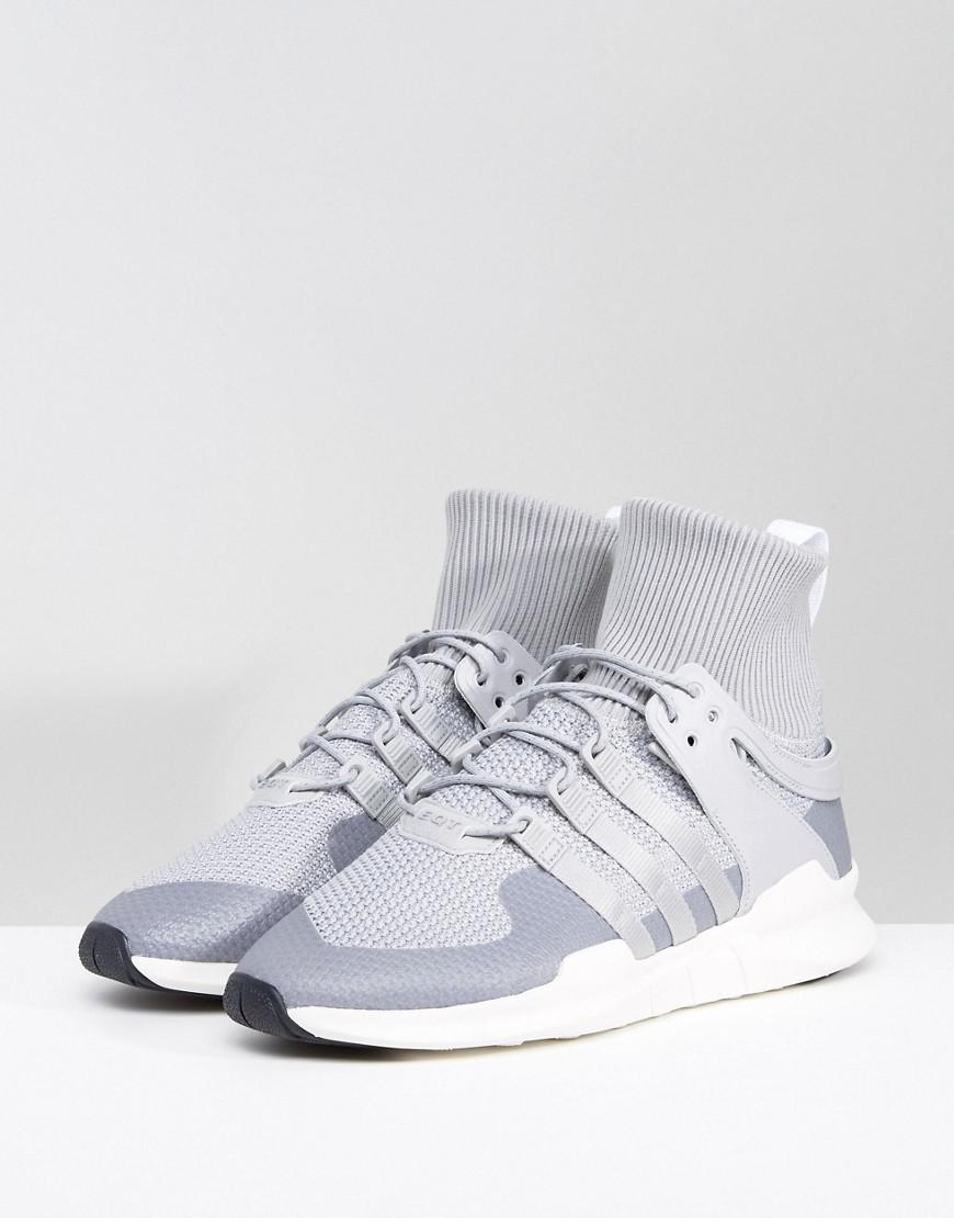 brand new 8d9d9 05b7e Lyst - adidas Originals Eqt Support Adv Winter Sneakers In Grey Bz0641 in  Gray for Men