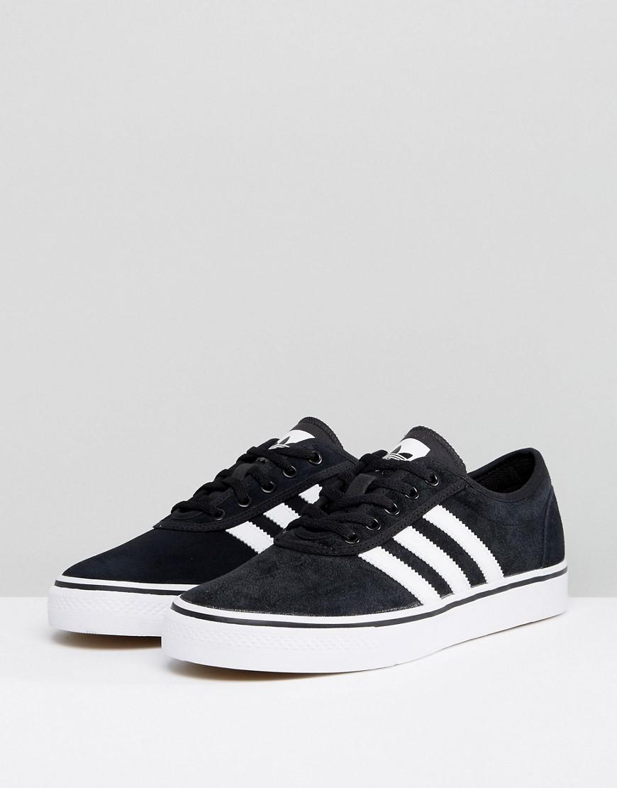 052f292b3fcb Lyst - adidas Originals Adi-ease Sneakers In Black By4028 in Black for Men