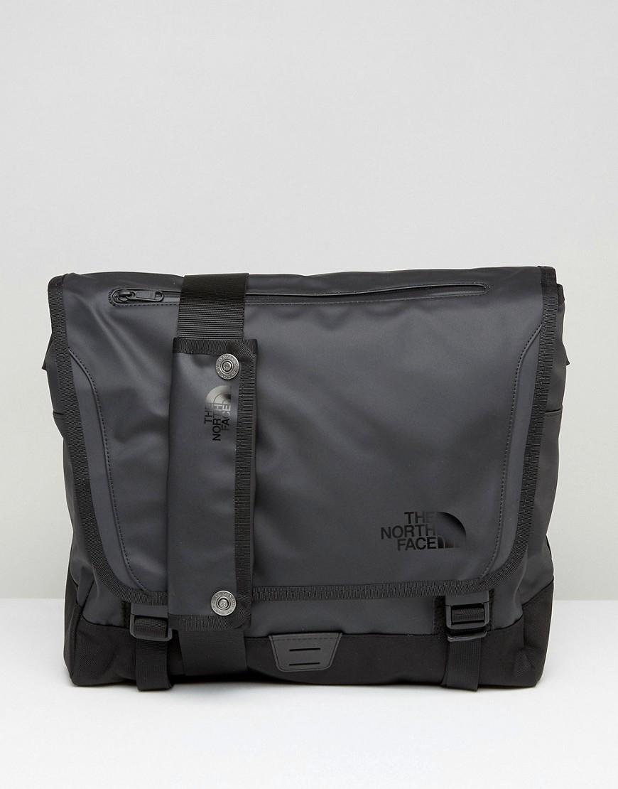 the north face base camp messenger bag in medium black. Black Bedroom Furniture Sets. Home Design Ideas