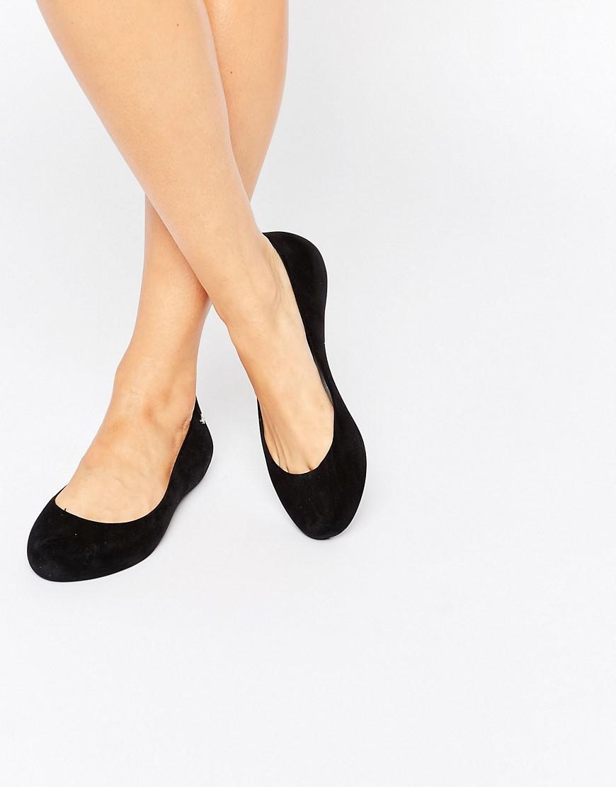 c810da0c7534 Lyst - Zaxy Soft Flock Ballerina in Black
